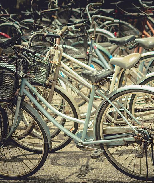Des vélos anciens pour organiser un rallye vintage pour son entreprise
