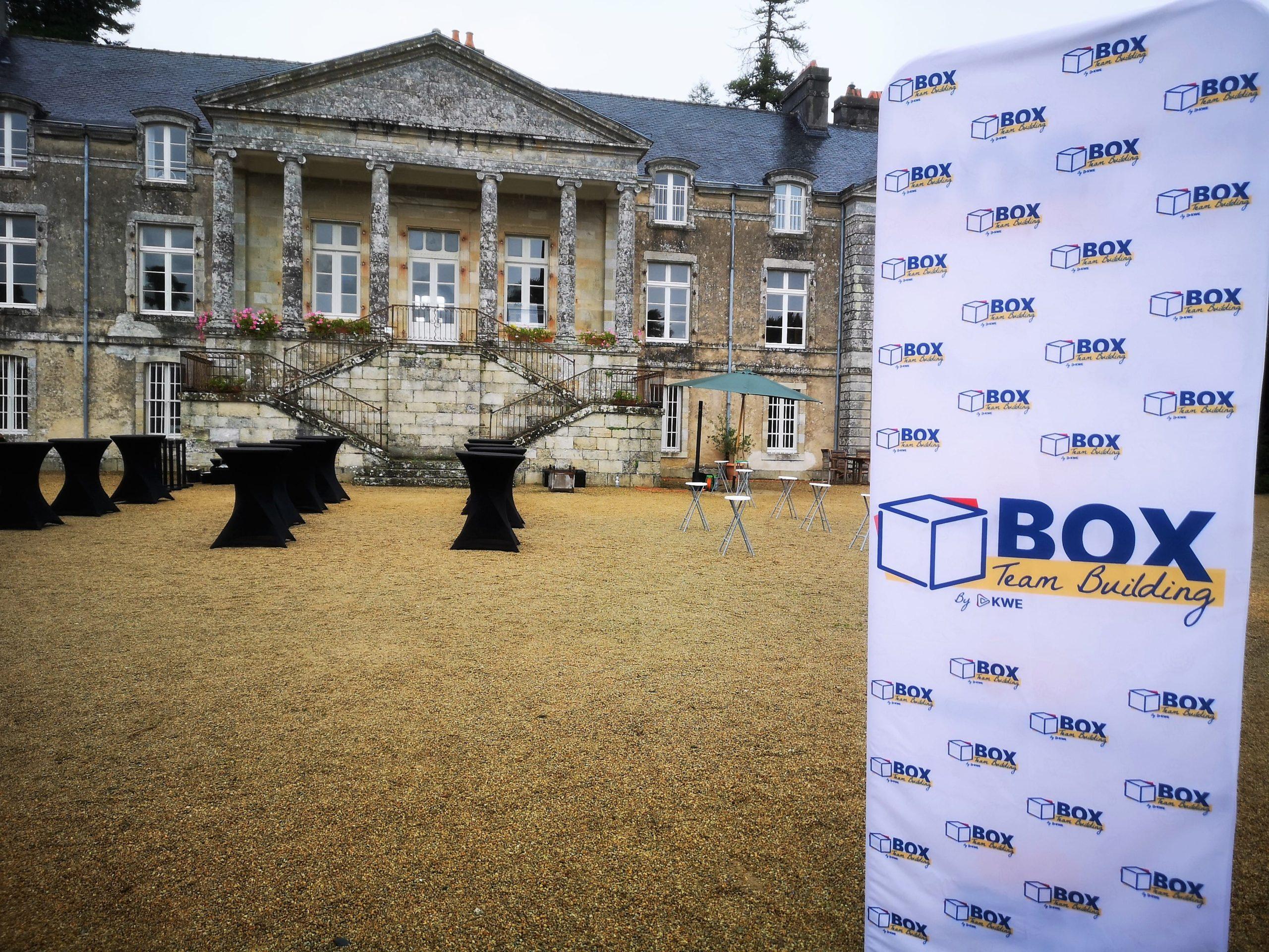 Le lieu où se déroule les ateliers de Box Team Building by Kap West Events
