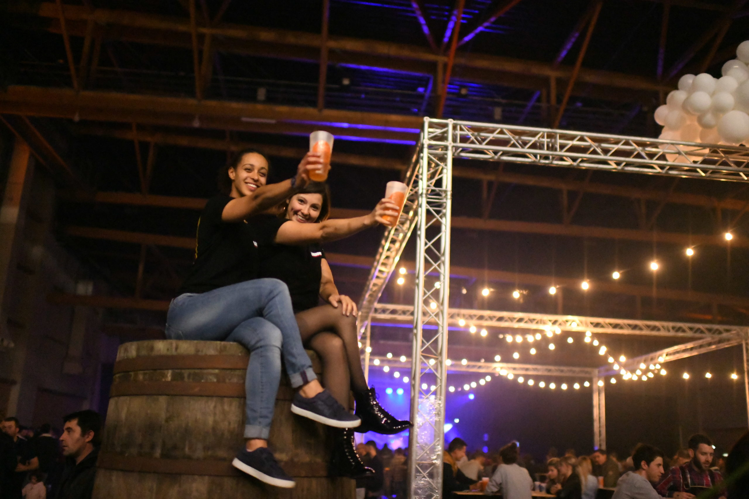 Evénement du Festival de la Bière au parc des expositions de Penvillers à Quimper par l'agence évènementielle Kap West Events.