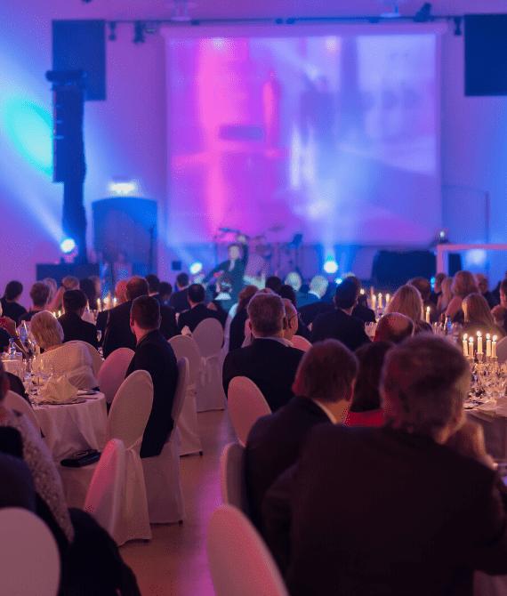 Évènements professionnels dans le Grand Ouest lors d'un concert d'entreprise organisé par l'agence Kap West Event