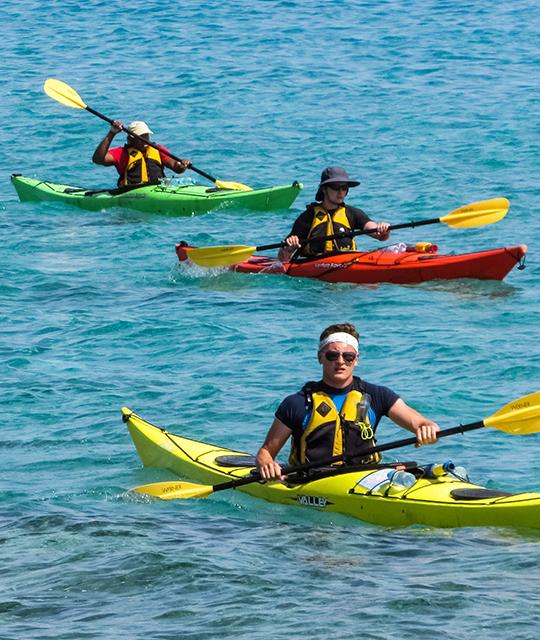 Sortie canoë Kayak en Bretagne pour organiser une animation aquatique d'entreprise